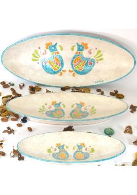 Set vassoi sardi ceramiche Kerapinta
