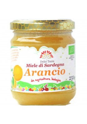 Miele biologico di arancio -  Terrantiga Apicoltori sardi
