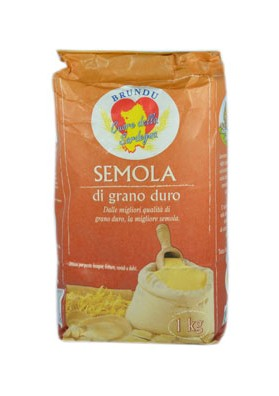 Durum wheat flour - Brundu