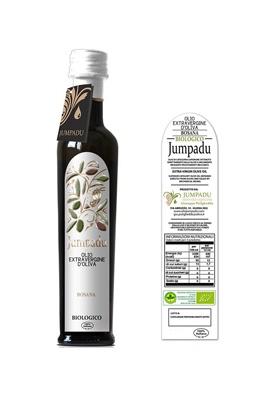 Olio extravergine di oliva BIO Varietà Bosana - Jumpadu