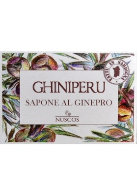 Saponetta naturale all'essenza di ginepro - Nuscos