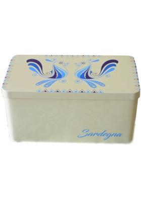 Sardinian tin boxs