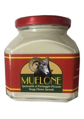 Tangy sardinian cheese spreads - Muflone