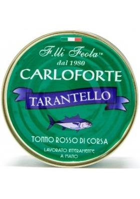 Tarantello of race tuna in oil - Fratelli Feola Carloforte
