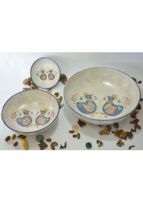 Ciotole tonde ceramiche Kerapinta